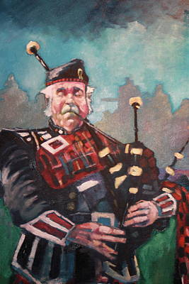 Painting - Piper 2014 by Kevin McKrell