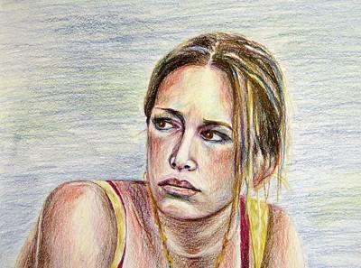 Piper Perabo Painting - Piper Perabo by Brian Degnon