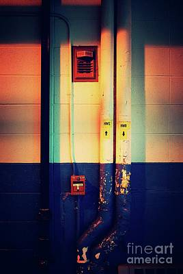 Photograph - Pipes And Lines - Vibrant by Frank J Casella