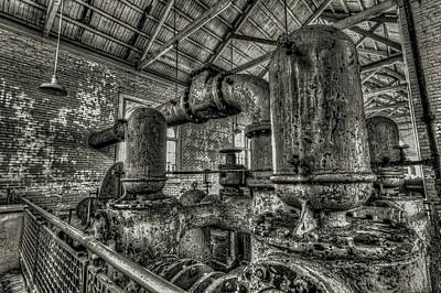 Pipes And Pumps And Pipes Art Print
