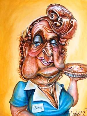 Whimsical Painting - Pipin' Hot Pie by Luke Horowitz