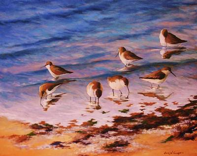 Painting - Piping The Tide by Sarah Grangier
