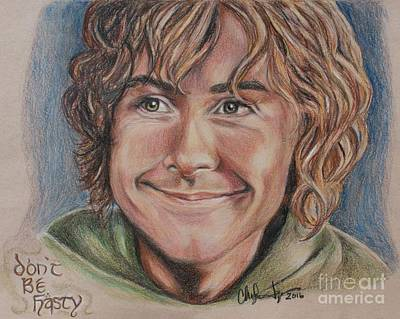 Drawing - Pippin by Christine Jepsen