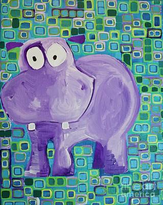 Painting - Pippo by Donna Howard