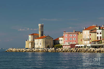 Photograph - Piran Church by Brian Jannsen