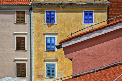 Photograph - Piran Colors - Slovenia by Stuart Litoff