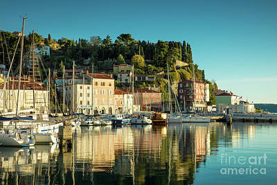 Photograph - Piran Evening by Brian Jannsen