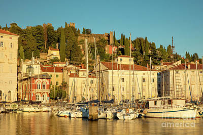 Photograph - Piran Evening II by Brian Jannsen