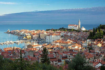 Photograph - Piran Morning by Brian Jannsen