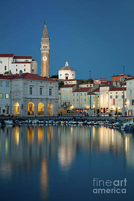 Photograph - Piran Night by Brian Jannsen