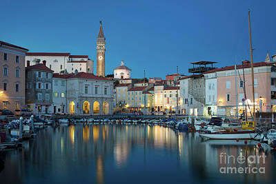 Photograph - Piran Twilight by Brian Jannsen