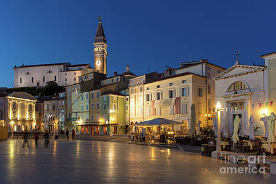Photograph - Piran Twilight II by Brian Jannsen