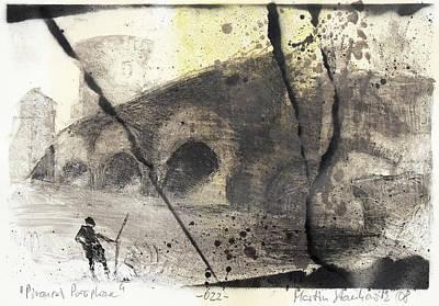 Painting - Piranesi Paraphrase No.22 by Martin Stankewitz