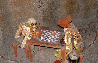 Photograph - Pirate Chess by David Lee Thompson