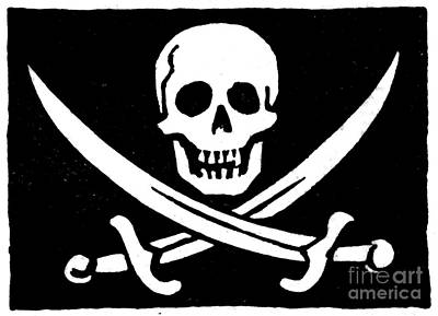 Pirate Flag Art Print by Granger