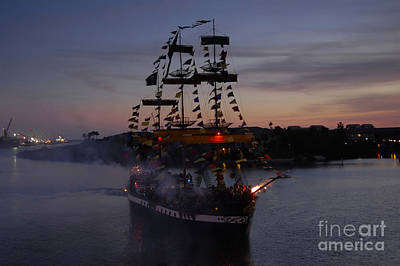 Pirate Invasion Art Print by David Lee Thompson
