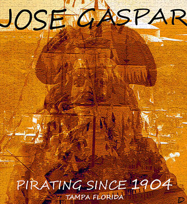 Photograph - Pirate Jose Gaspar by David Lee Thompson