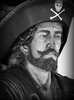 Pirate Art Print by Lori Seaman