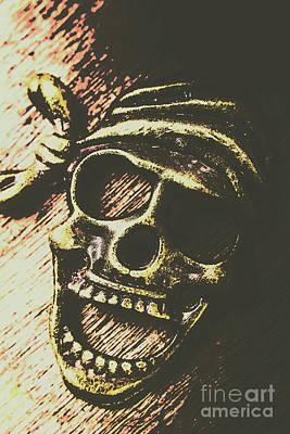 Pirate Metal Art Print
