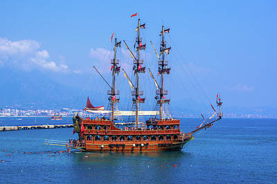 Photograph - Pirate Ship In Alanya by Sun Travels