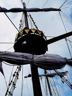 Photograph - Pirate Ship In Gdansk 03 by Dora Hathazi Mendes