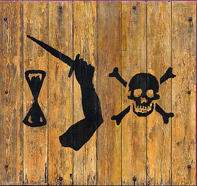 Photograph - Pirate Sign 2 by Richard Reeve