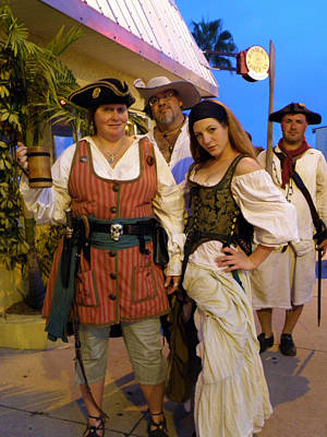 Photograph - Pirate Wenches by Rose  Hill