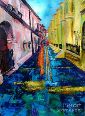 Painting - Pirates Alley From The Square by Beverly Boulet
