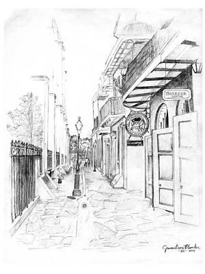 Pirates Alley Original by James leon Blancher III