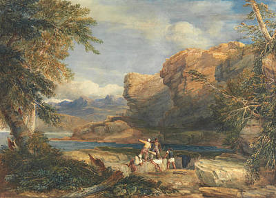 Painting - Pirate's Isle by David Cox