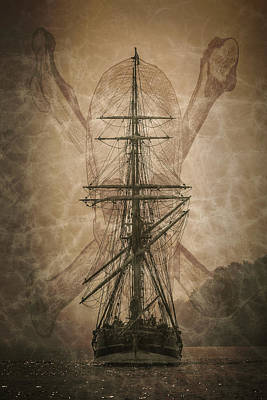 Photograph - Pirates Landing by Wes and Dotty Weber