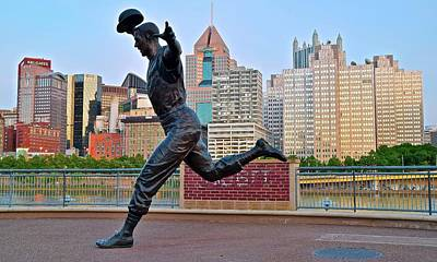 Mazeroski Photograph - Pirates Legend And City by Frozen in Time Fine Art Photography