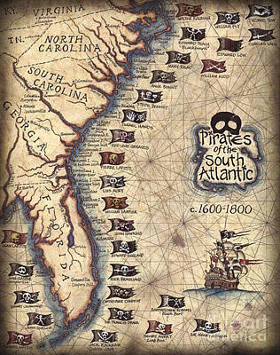 Photograph - Pirates Of The South Atlantic by Dale Powell
