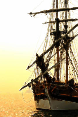 Photograph - Pirates Sunset Sail  by Athena Mckinzie