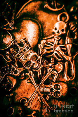 Death Wall Art - Photograph - Pirates Treasure Box by Jorgo Photography - Wall Art Gallery