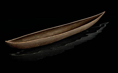 Photograph -  Pirogue Dugout Canoe by Gary Warnimont