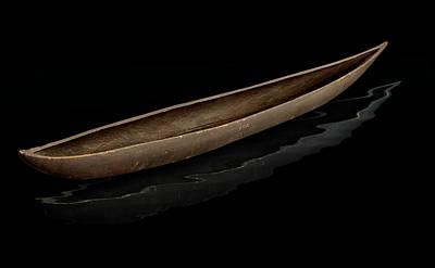 Photograph -  Pirogue Dugout Canoe by Gary Warnimont