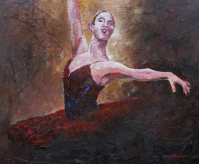 Painting - Pirouette  by David Maynard
