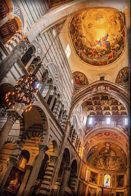 Photograph - Pisa Duomo Interior by Carolyn Derstine