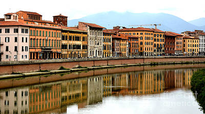 Photograph - Pisa Reflections by Tanya Searcy
