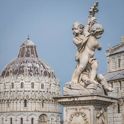 Photograph - Pisa Statue by Michael Thomas
