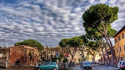 Summer Digital Art - Pisa by Super Lovely