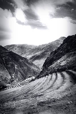 Pisac Fields Art Print
