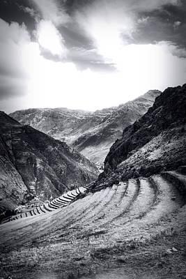 Peru Photograph - Pisac Fields by Stuart Deacon