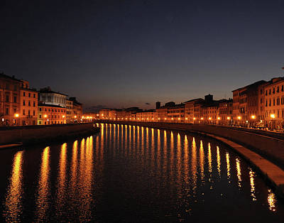 Photograph - Pisa's Arno by Matt MacMillan