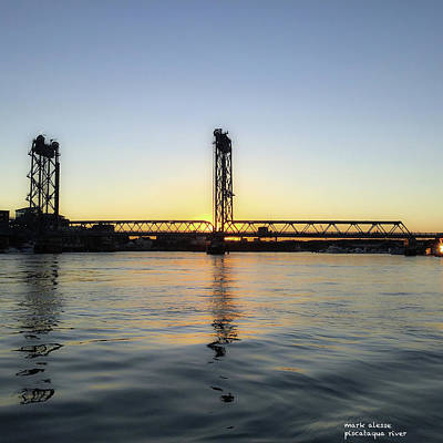 Photograph - Piscataqua River by Mark Alesse