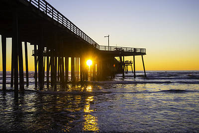 Luis Photograph - Pismo Beach Pier  by Garry Gay