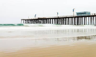 Beach Photograph - Pismo Beach Pier by Priya Ghose