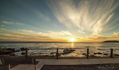 Photograph - Pismo Beach Sunset 2 by Wendy Carrington