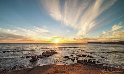 Photograph - Pismo Beach Sunset by Wendy Carrington